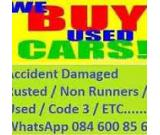 VEHICLES,RUNNING,OR NOT WE BUY ,055 3414313,ACCIDENT SCRAP DAMAGE JUNK ANY MODEL