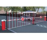 Gate barrier, BFT PRODUCTS, Sliding door, CCTV,