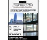 Fitted Out Office For Rent  | The Prime Tower | Business Bay