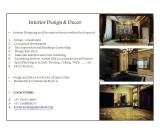 Interior Design and Decor Services