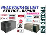 HVAC Package Unit Chiller Unit System Ac Service Repair Maintenance in Dubai