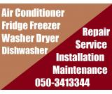Ac Fridge Dishwasher Repairing Fixing Works in Dubai