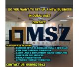 Do you want to set up a new business in Dubai, UAE?