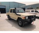 B6 Level Armored Toyota landcruiser 79 pick up -2018 (سيارة مصفحة)