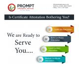 Certificate Attestation Services through Experts