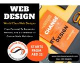 Web Designs Starts From AED 22 Only