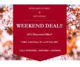 Big Weekend Deal!! 25% OFF for Designing Courses in Dubai