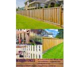 Wooden Fences at front porch ideas in Dubai