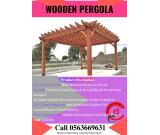 Decorative Wooden Pergola for your Backyard in Dubai