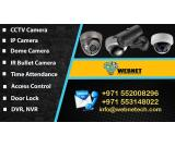CCTV installation for Offices, Shops, Restaurants & Villas