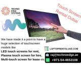 Engage Audiences With Interactive Touch Screen Display Rentals in Dubai, UAE