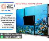 Desired impact of video wall Rental in Dubai