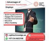 Things to Think Over Before Interactive Touch Screen Rental Dubai