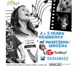 Dubai2 and 3 years Residency for MUSICIAN/PHOTOGRAPHER