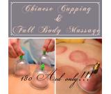 Chinese Cupping & Full Body Massage