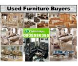 WE BUY ALL USED FURNITURE & ELECTRONICS 050-8586395 IN SHARJAH