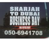 Car lift from Sharjah to Business Bay, D3