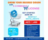 General Trading with E-Commerce License Sale on installments 1499 AED