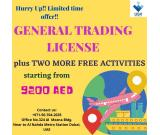 General Trading Plus 2 more activities