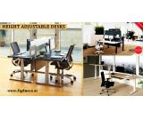 Buy Best Sit Stand Desk in Dubai for Office