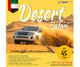Desert Safari - AED 45 Only