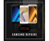 All screen replacement comes with 1 yr warranty.