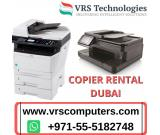 Copier Rental Dubai  for Serving Multiple Purposes