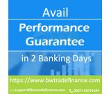 Get Performance Bond Without Blocking Cash Funds – Apply Now!