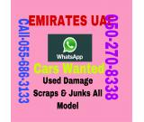 ALAIN UAE CALL 055 6863133,AM BUYING CARS ALL MODEL RUNNING NON SCRAP JUNKS DAMAGE