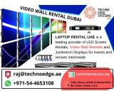 Video wall rental Dubai leaping towards engaging the audience