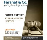 Hire Court Expert UAE - Call us today for Expert Witness