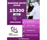 Business Setup offer for 15,300 AED