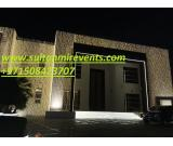 Wedding Lights Parties Decoration Events Setups