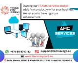 Prominent AMC service Provider Dubai for your computers
