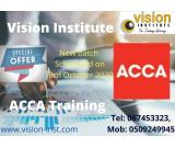 ACCA NEW BATCH START FROM TODAY AT VISION , CALL - 0509249945