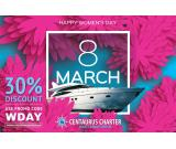 Get 30% Discount on Luxury Yacht - Womens Day Deals