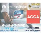 ACCA Courses at Vision Institute. 0509249945