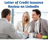 Letter of Credit Issuance Review on LinkedIn