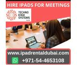 Rent iPads for Events in Dubai