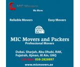 MIC Movers and Packers Abu Dhabi 058 2828897