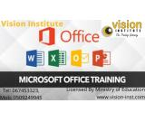 MS OFFICE training with special offers call - 0509249945.