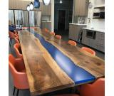 Wood table (oak, birch, ash). Oak countertops. Desk to office and home