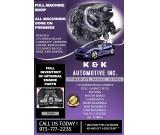 K & K AUTOMOTIVE INC.      -   973.777.2235