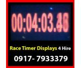 Race Timer Rent Hire Manila Philippines