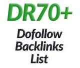 50 Dofollow SEO Backlinks high Domain authority 60+ PA to rank higher on Google
