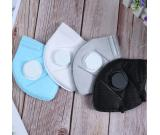 Disposable 3D Fold Dust N95 Face Mask with Valve Non Woven Active Carbon Anti Pollution Respirator